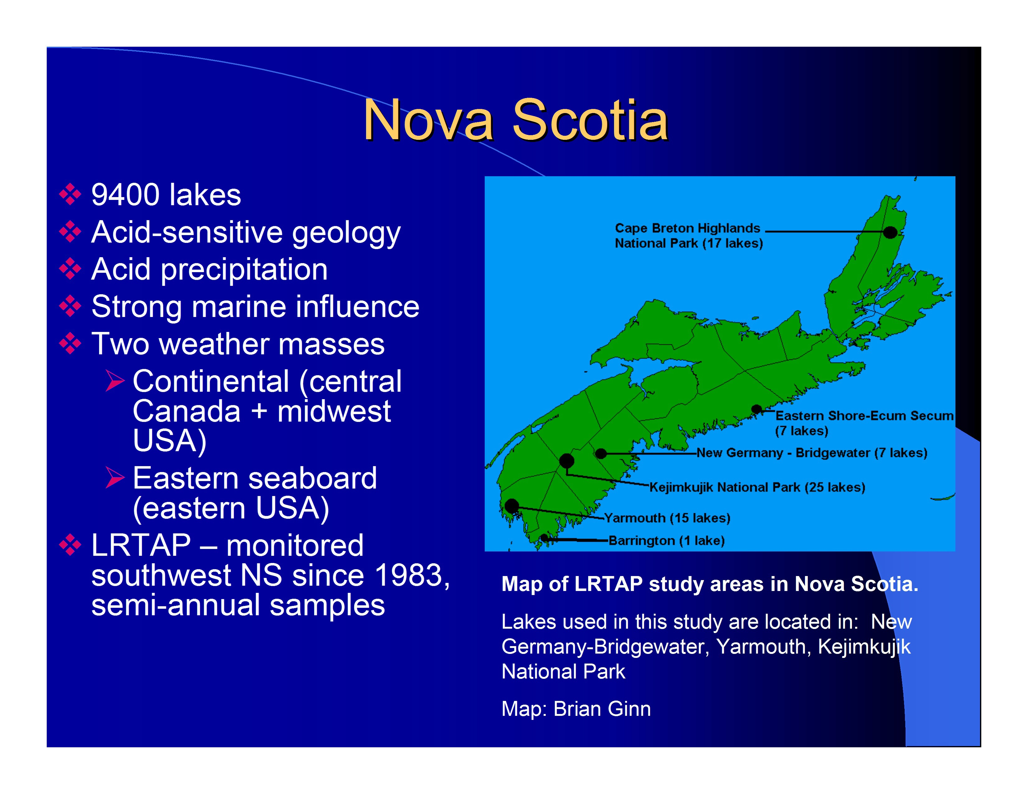 how to call nova scotia from ontario
