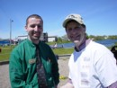 Partner, Sean Naugle, of the Sobeys group at our Maynard Lake cleanup-June 2004